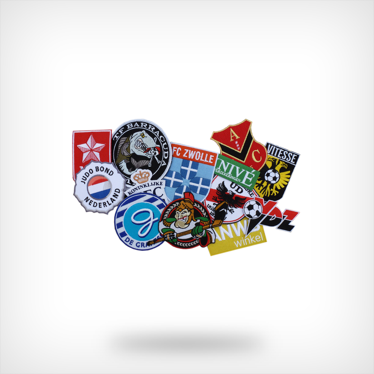Opnaai badges/logo's