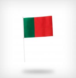 Vlag met stok