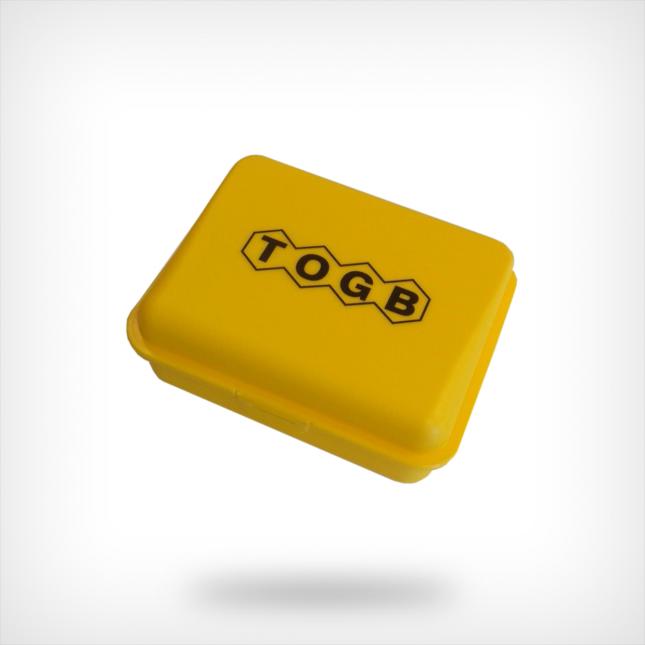 Broodtrommel geel