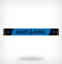 Blauw-zwarte kampioenssjaal