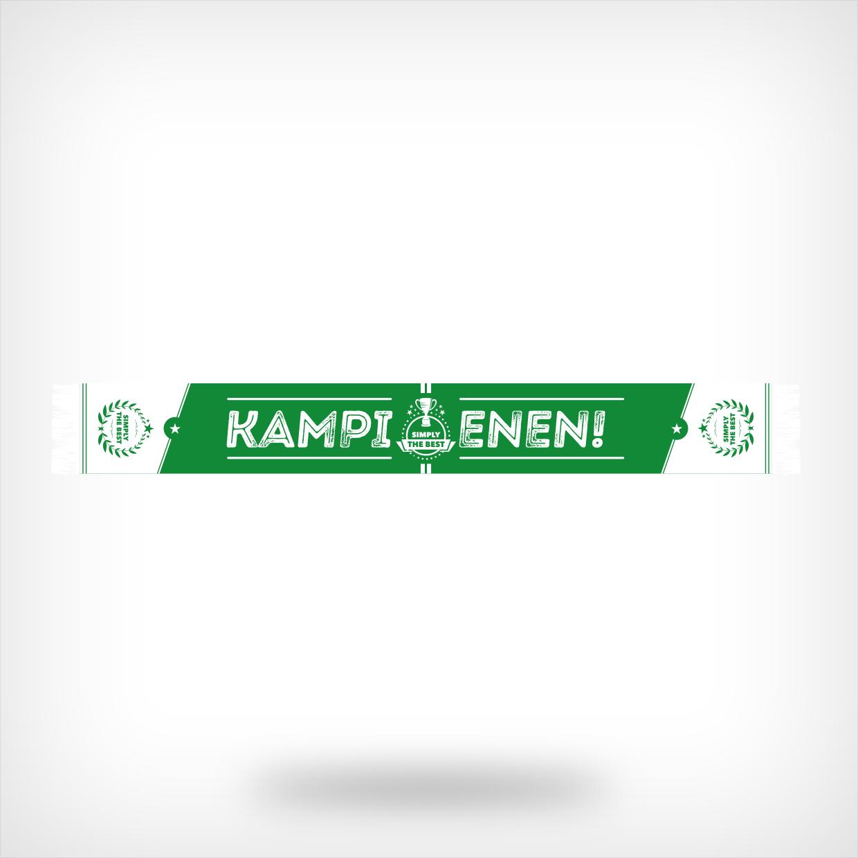 Groen-witte kampioenssjaal