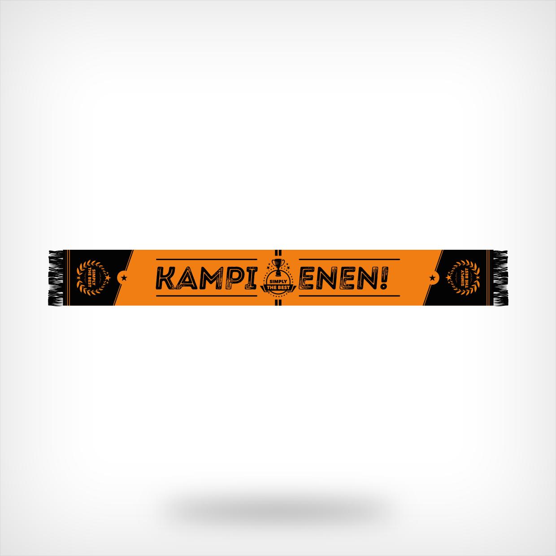 Oranje-zwarte kampioenssjaal