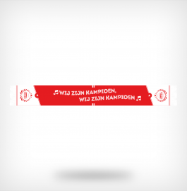Rood-witte kampioenssjaal 2